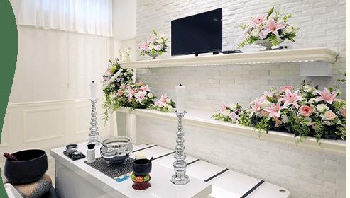 モダンな家族葬専用ホール