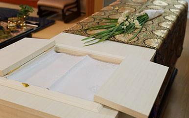野田市の式場で行われた葬儀のレポート02