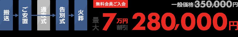 無料会員ご入会最大3万円割引150,000円