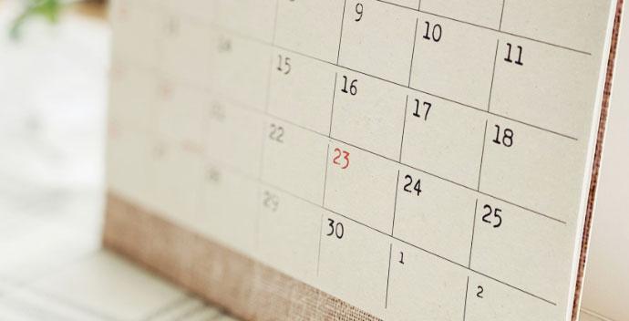 家族葬の日数を決める