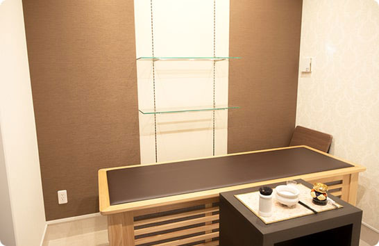 仙台福室ホールの安置室