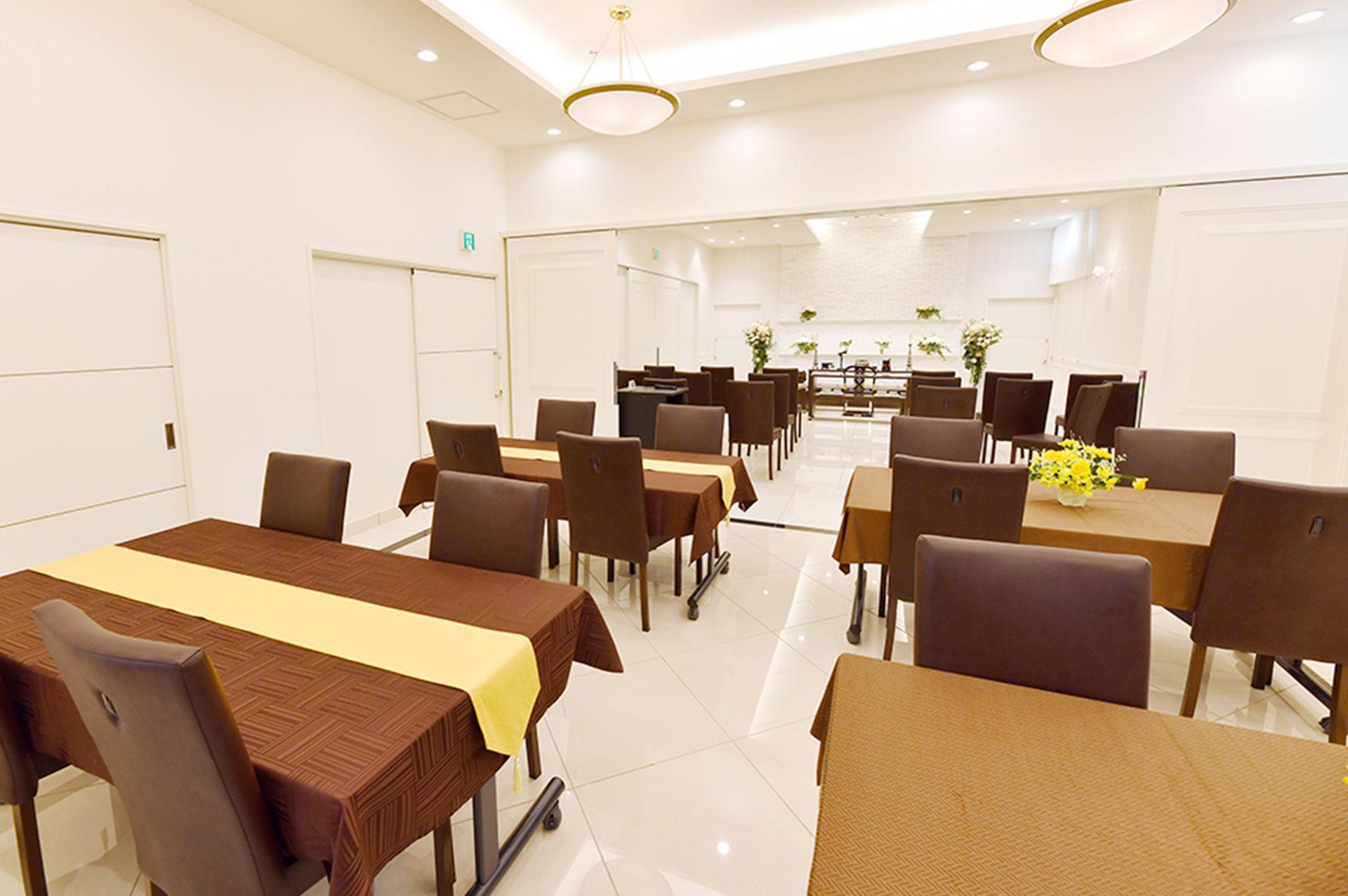 仙和 仙台柳生ホールの特徴