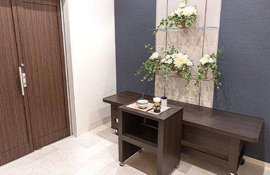 金沢藤江ホールの安置室