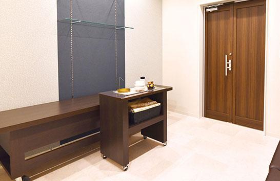 金沢新神田入江ホールの安置室